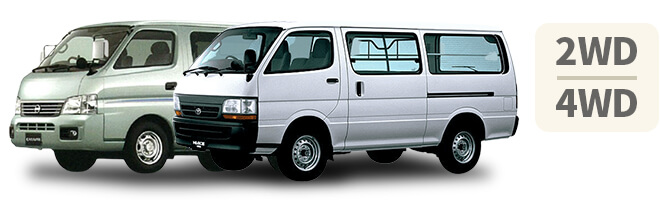 貨物 1BOXベーシック キャラバン・ハイエース等(2WD・4WD)